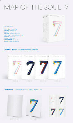 BTS [MAP Of THE SOUL:7] Album RANDOM CD+POSTER+Foto Buch+Lyric+Buch+2p Karte+etc 7