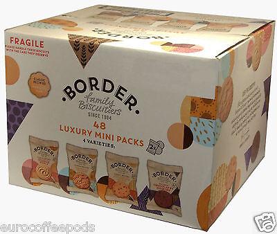 2 x Border Biscuits 48 in a box (4 Varieties) Luxury Mini Packs, 192 biscuits 3