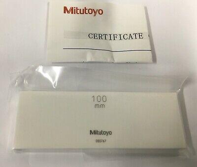 Mitutoyo 613681-516 Ceramic Rectangular Gage Block, 100mm, ASME Grade K 2