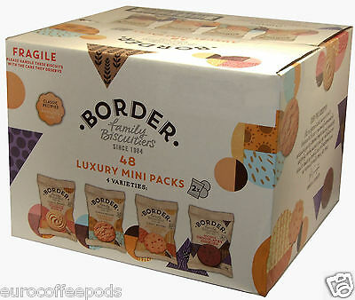 2 x Border Biscuits 48 in a box (4 Varieties) Luxury Mini Packs, 192 biscuits 2