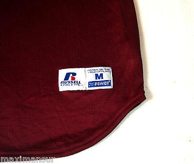 Orig. RUSSELL Athletic TEAM USA Little League Baseball Shirt NEU RAR Size XL Red