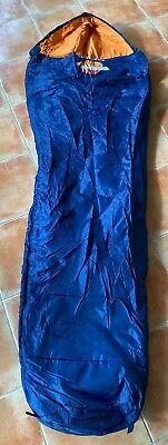Saco De Dormir Repsol Cremallera Derecha Azul Y Naranja Nuevo 6