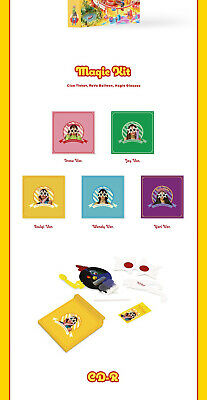 RED VELVET THE REVE FESTIVAL Album DAY 1 Ver CD+POSTER+Magic Kit+Book+Card+GIFT 8