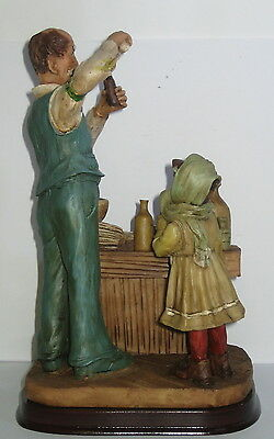 Der Apotheker, Deko Figur, Nostalgie Stil, aus Polyresin, abwaschbar, 21x13x10cm 2