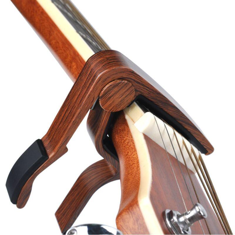 Guitar Capo Quick Change Acoustic Guitar Accessories Trigger Capo Key Clamp 3