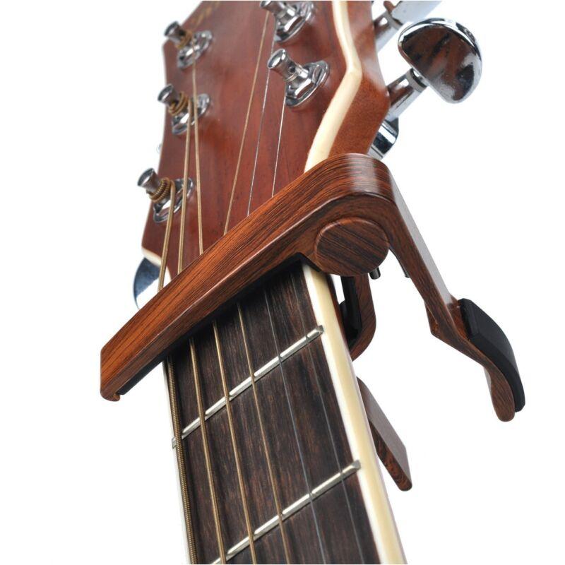 Guitar Capo Quick Change Acoustic Guitar Accessories Trigger Capo Key Clamp 4