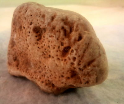 Stone-age Aex-Head Aex. Paleolithic period. Museum Level. Jordan Rift Valley