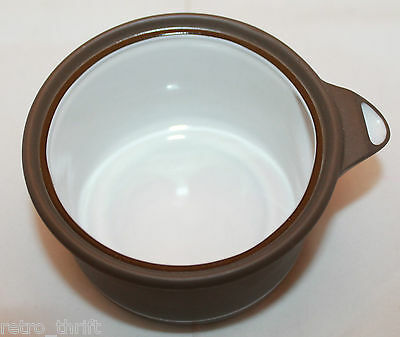 Vintage  Arita Genesis Brown Creamer Small Pitcher with Lid 5243 Made in Japan
