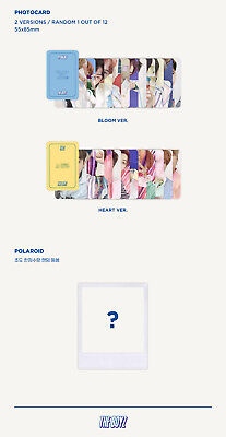 THE BOYZ BLOOM BLOOM 2nd Single Album RANDOM CD+Book+Pop-up+Sticker+Letter+Card 8