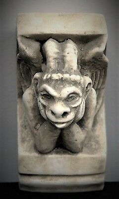 Gargoyle Of Notre Dame Corbel Bracket Architectural Accent Home Decor - Pair 2