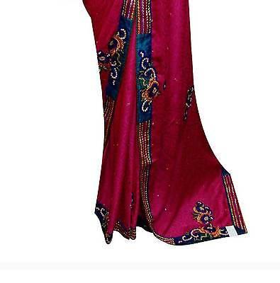 Südafrika Asiatisch Damen Bekleidung sarees gesteppt Bluse Bollywood party wear