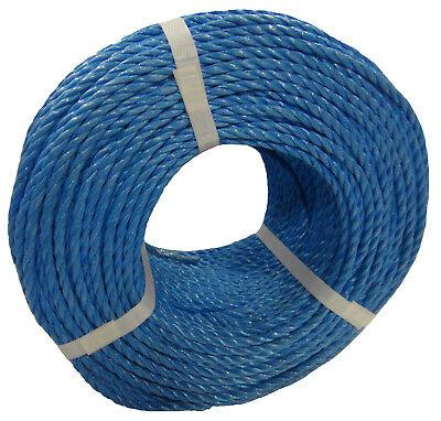 Blue Poly Rope Coils, Polyrope, Polypropylene, Nylon, Polyprop, Tarpaulins 2