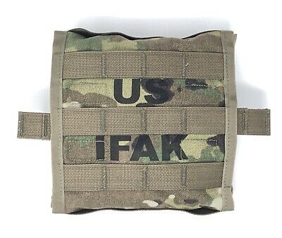 USGI IFAK II Military Individual First Aid Kit Medical Field Gear Complete Pack 6