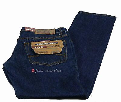 Pantalone 5 tasche cotone denim Carrera 700 jeans uomo Regular Fit Straight Legs 9