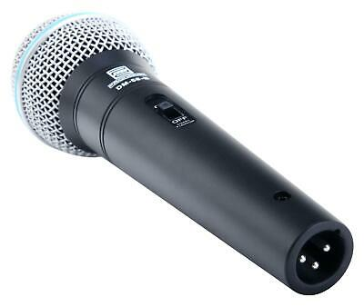 DJ PA Gesangs Live Mikrofon Set Mikrophon Ständer Klinke Mikro Kabel Mic Klemme 6