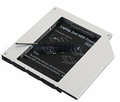9.5mm 2nd IDE Hard drive caddy Optical Bay for HP Compaq MultiBay 2510p nc2400