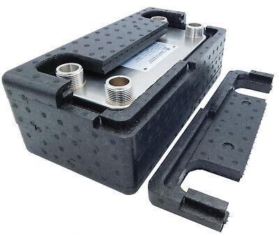 SCAMBIATORE di calore a piastre NORDIC TEC - INOX 1' (25) 125-450kW + ISOLAMENTO 4