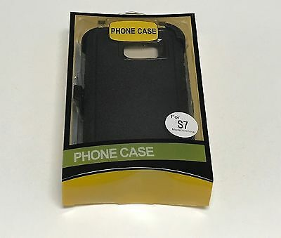 For Samsung Galaxy S7 Defender Case (Belt Clip Fits Otterbox) 2