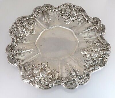 Reed & Barton Francis I Sterling Silver Sandwich Serving Plate X569 541g 2
