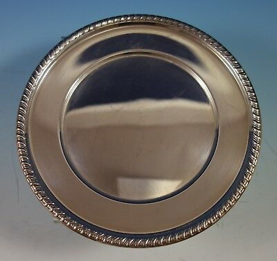 Empire Sterling Silver Bread and Butter Plate Gadroon Style Border (#2746) 4