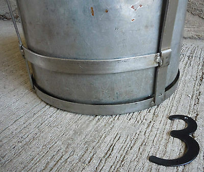 Vintage Stainless Steel Frame and Aluminum Bucket/Pale (#3) 2