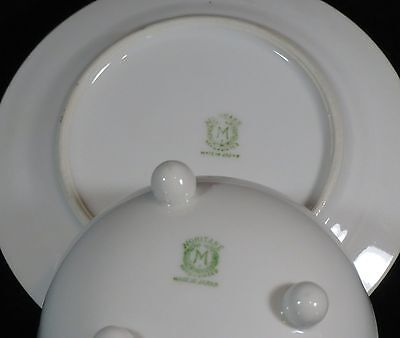 Footed Bowl and Underplate - Noritake/Morimura - Footed Bowl - Art Deco 6