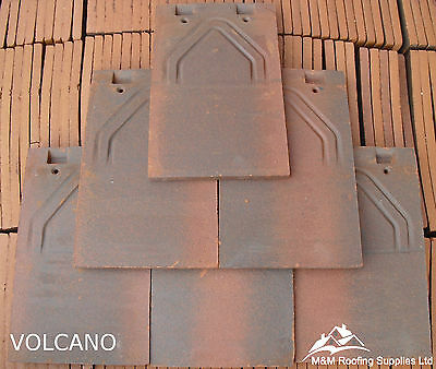 New MachineMade Clay Roof TilesVOLCANOPlain TilesFREE DELIVERY!!