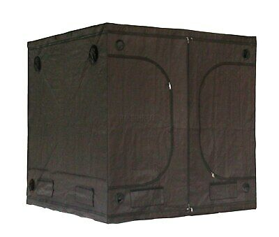 Portable Grow Tent – Thick Foil Silver Mylar Hydroponic Dark Room 2m x 2m x 2m 2