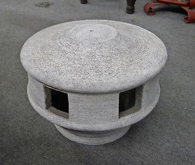 Vintage Cement Lighthouse
