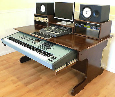 Delicieux 2 Of 9 Music Desk/ Studio Desk / Production Desk/ Recording Desk/ DAW/ Studio  Table