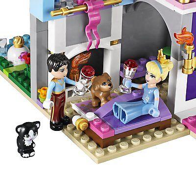 Lego Disney Princess 41055 CINDERELLA'S ROMANTIC CASTLE clock Prince NEW NISB 3
