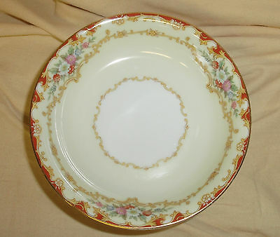 8d586de8e81da LOT 5 VINTAGE 1930's NORITAKE China Dubarry 591 Fruit Dessert Bowl 5 1/4