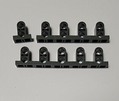 Lego® 20 x Technik Verbinder mit Fuß 1x2x1 dunkelgrau *Neu* #32530