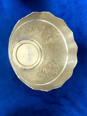 84 Silver Persian, Middle East, Arabic Chased Ice Bucket With Lion Head Handle 8