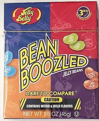 FULL CASE OF 24 X 45g JELLY BELLY BEAN BOOZLED BOX WEIRD TRICK BEANS 3RD EDITION 2