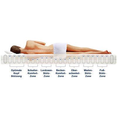 7 Zonen CPT HydroVital® 16 Plus Wellness Komfort Marken Matratze 140x200 H4
