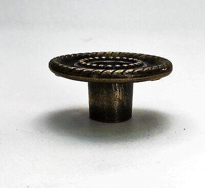 Bronze antique hardware Mid Century Modern drawer pull cabinet knob vintage 4