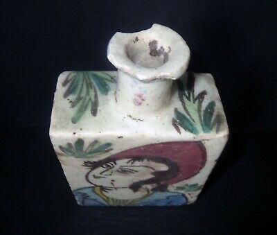 Antique Chinese POTTERY SPICE SCENT BOTTLE VASE Ancient Antiquity 4
