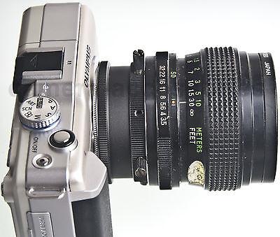 Universal Adapter Canon FD Minolta MD M39 Lens to Sony E mount NEX Alpha camera 7