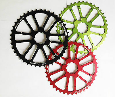 FOURIERS 40T 42T Teeth cog fr Shimano Sram 34//36t 10 speed 10s Cassette Sprocket