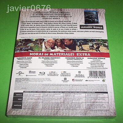 Jurassic Park La Coleccion En Blu-Ray Pack Nuevo Y Precintado 2