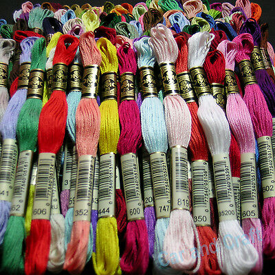 Pick your Color 50 skeins France DMC Embroidery Floss Cross Stitch Fill Wishlist