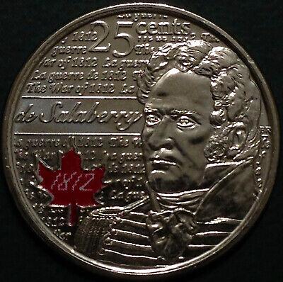 Canada 2012 / 2013 War of 1812 8 Commemorative 25 Cent Quarter Coin Set, UNC 4