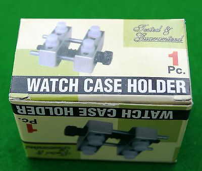 Aluminium watch case holder - watchmaker/clock repair  Fantastic Quality