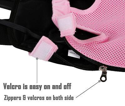 Pet Carrier Backpack Adjustable Pet Front Cat Dog Carrier Travel Bag Legs Out 7