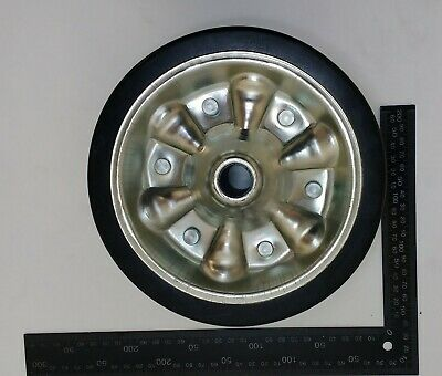 Jockey Wheel Pu Steel Fits Mp9741 Mp9743 Mp9744 200Mm Genuine Maypole Mp97435 6