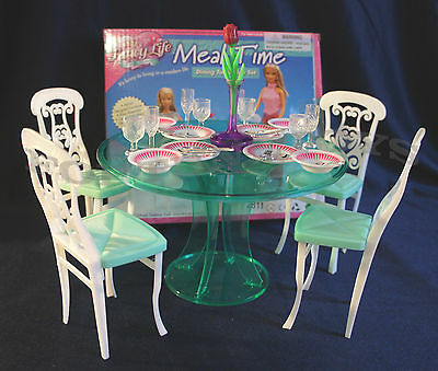 2811 NEW FANCY LIFE DOLL HOUSE FURNITURE Meal Time Dining Room Playset