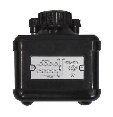 0-90 kOhm 0.2% P34 Decade Resistance Standard Box Resistor an-g L&N ESI IET 3