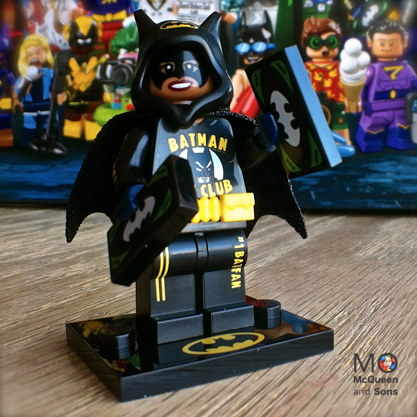 Lego Batman Movie Series 2 Bat Merch Batgirl 11 Minifigure 71020 Batfan