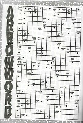 Take A Break Arrow Word Books Lots Of Fun Puzzles For All Ages Issue 14 2019/20 2